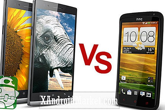 HTC One X + vs Oppo Find 5