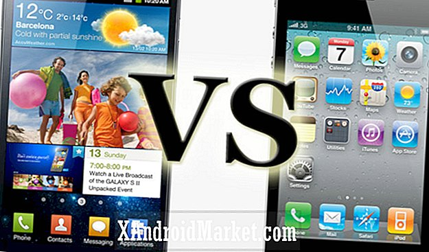 iPhone 4 versus  Samsung Galaxy SII