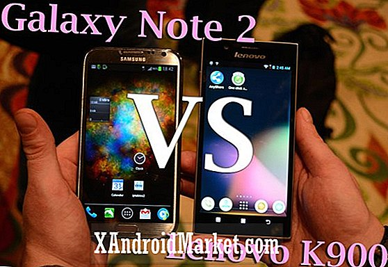 Lenovo IdeaPhone K900 VS Samsung Galaxy Note 2 [Video]