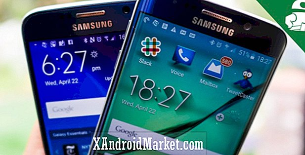 Samsung Galaxy S6 vs Galaxy S6 edge!