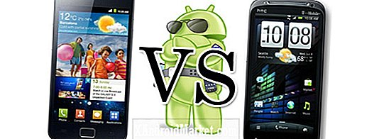 HTC Sensation vs.  Samsung Galaxy S II: Combat de Superphone phare!