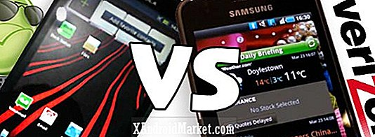 Motorola Droid Bionic Vs.  Samsung Galaxy S II - Stand Uberphone grand écran Verizon!
