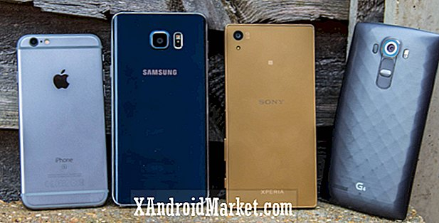 Disparo a cámara oculta: Xperia Z5 vs LG G4 vs Galaxy Note 5 vs iPhone 6S
