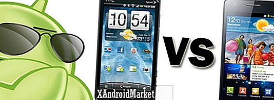 HTC EVO 3D vs.  Samsung Galaxy S II: Extreme Android Superphone Standoff!