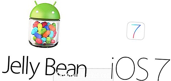 Android 4.2 Jelly Bean versus iOS 7