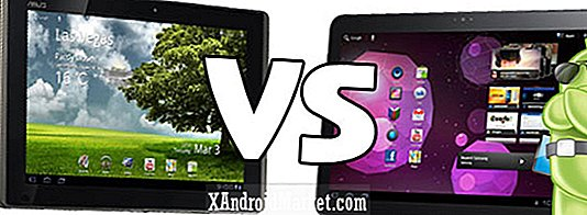 Asus Eee Pad Transformer Vs.  Samsung Galaxy Tab 10.1