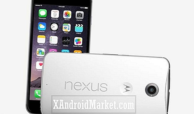 Hårdvara Showdown: Nexus 6 vs iPhone 6 Plus