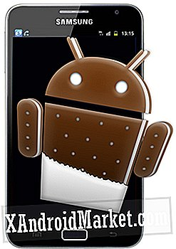 Opgrader Samsung Galaxy Note N7000 til Lækket Ice Cream Sandwich Build XXLP1