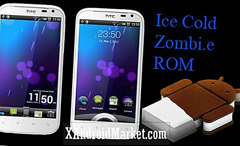 Actualice la Sensation XL a Ice Cream Sandwich con Cold Ice Zombie, Comes With Sense 3.6