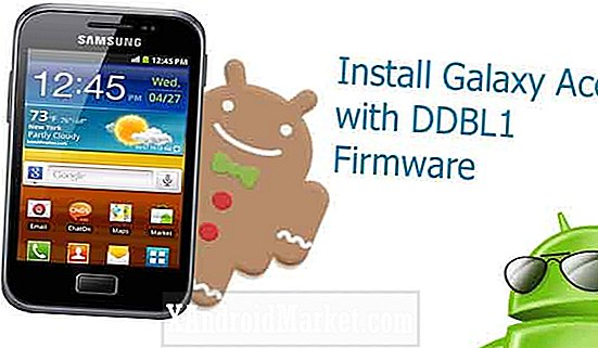 Mise à niveau du Samsung Galaxy Ace Plus GT-S7500 vers la version officielle Android 2.3.6 Gingerbread build DDLB1
