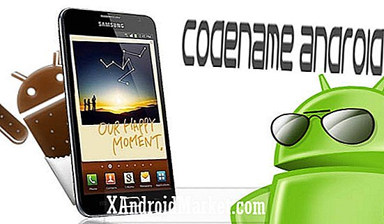 Opgrader din Samsung Galaxy Note GT-N700 til Ice Cream Sandwich via Codename Android ROM