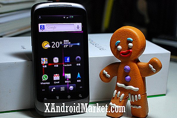 Nexus One Gives Gingerbread (Endelig!)