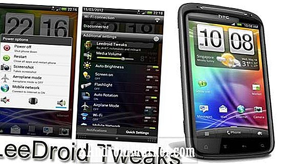 Tweak og tilpass din HTC Sensation med Leedroid Tweaks-pakken