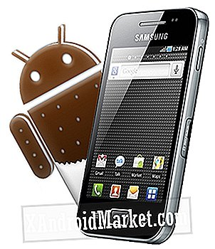 Sådan opdateres Samsung Galaxy ACE S5830 med Android 4.0 ICS-stylet Custom ROM