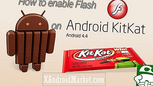 Hoe Flash op Android in te schakelen 4.4 Kitkat (video)
