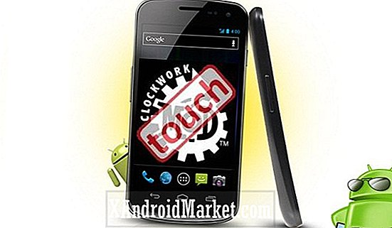 Samsung Galaxy Nexus SPH-L700 (Sprint): Hoe ClockworkMod Touch Recovery te installeren