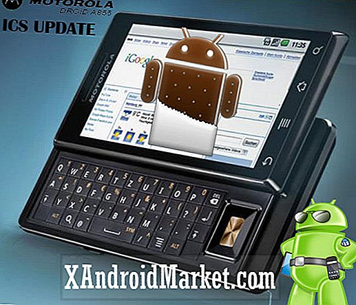 Motorola Droid A855 Gets ICS Custom ROM [Last ned og installer]