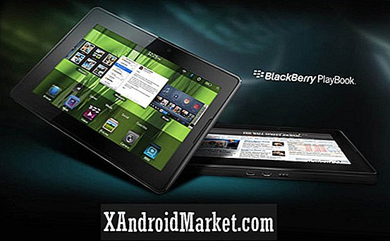 Hur man rotar Blackberry Playbook och få Android Market Too