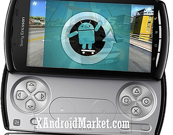 Sådan opdateres Sony Ericsson Xperia Play med CyanogenMod 7.2
