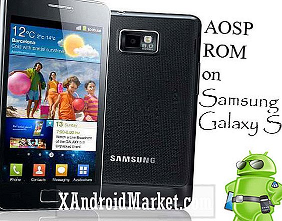 AOSP Android 4.0 ROM voor Samsung S2 Galaxy - KOUD AOSP