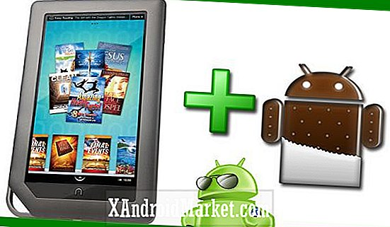 Comment installer ICS sous Android 4.0.1 sur Nook Color avec CyanogenMod 9