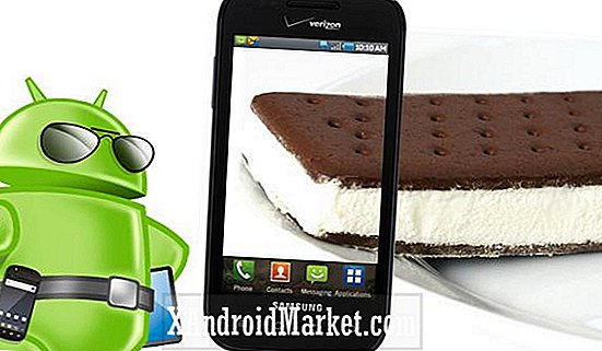 Uppgradera Samsung Fascinate to Ice Cream Sandwich med MIUI 4