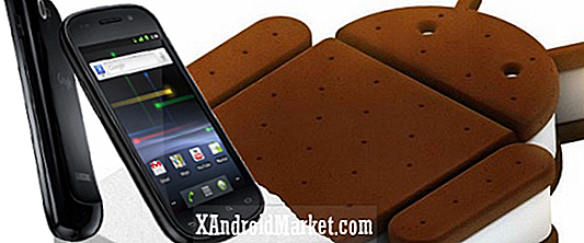 Sådan installeres Android 4.0.3 Ice Cream Sandwich på Samsung Nexus S
