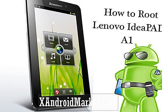 Sådan Root Lenovo Idea PAD A1 - Tutorial med Super One Click Tool