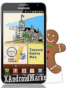 Update Samsung Galaxy Note GT-N7000 naar Android 2.3.6 Firmware Build XXLA6