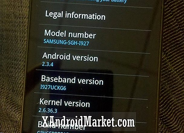 Leaked QWERTY Slider Phone Niet de Samsung Galaxy S2 voor AT & T
