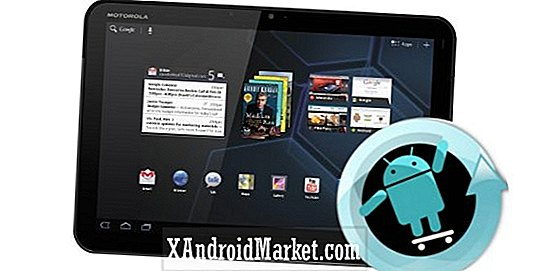 Opdater Motorola XOOM Wi-Fi / LTE med CyanogenMod 9 nightly build