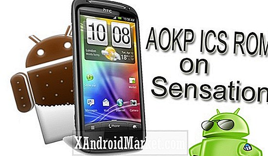 Installera AOKP Ice Cream Sandwich på HTC Sensation