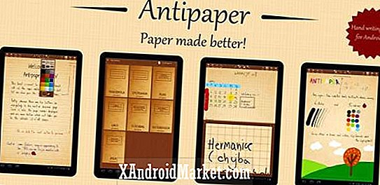Tag notater med antipaper noter på din Android Tablet