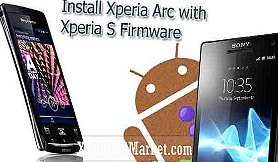 Installer Sony Xperia S-firmware på Sony Ericsson Xperia Arc