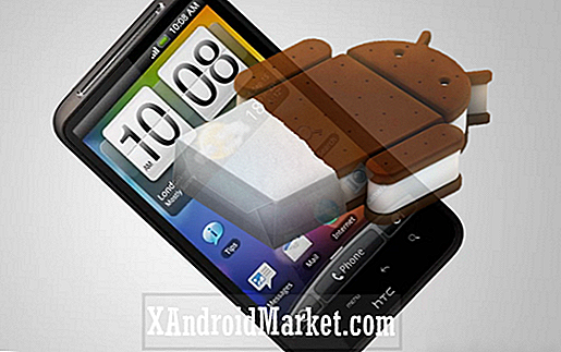 Opgrader HTC Desire HD til Android 4.0.3 Ice Cream Sandwich Via Virtuous Quattro ROM