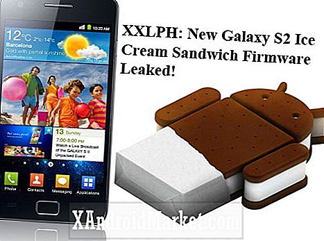 XXLPH: Ny Galaxy S2 Ice Cream Sandwich Firmware Lekkert!
