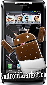 Upgrade Droid Razr naar Stock Ice Cream Sandwich via IC3RAZR Alpha