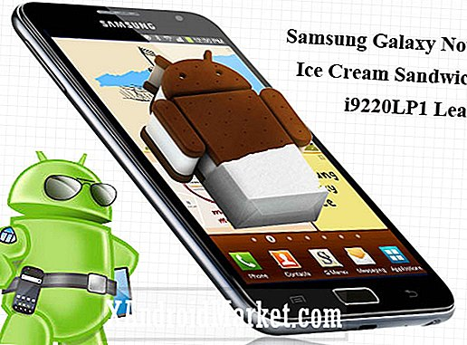 Samsung Galaxy Note Ice Cream Sandwich (ICS) Læk - Download og Installer Instruktioner til I9220LP1