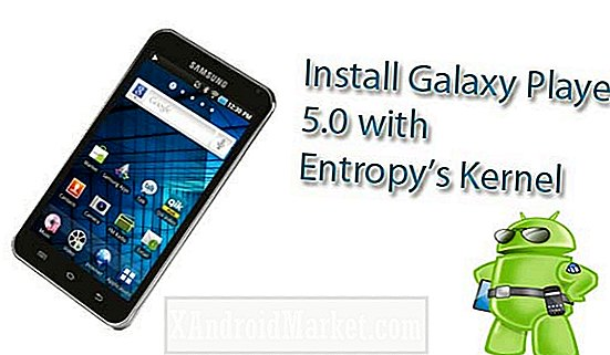Wi-Fi 5.0 Samsung Galaxy Player 5.0 / YP-G70: Installation du pilote quotidien d'Entropy pour le support overclock et ext4