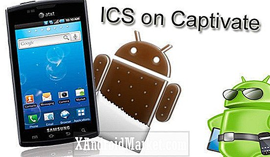 Opgrader Samsung Captivate I897 til Android 4.0.3 ICS via officielle kodenavn Android ROM