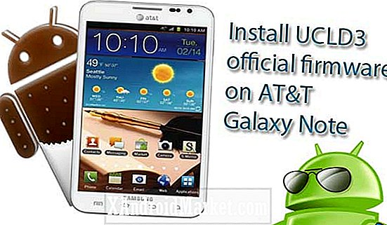 Samsung Galaxy Note SGH-I717 (AT & T): upgrade naar Android 4.0.3 ICS-firmware build UCLD3