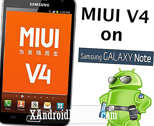 MIUI 4 Ported to Galaxy Note [Hvordan]