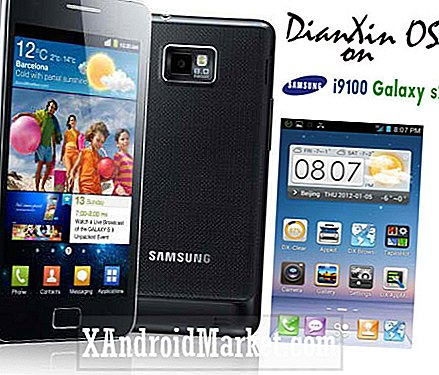 DianXinOS voor Galaxy S2 i9100 - Download en installeer instructies