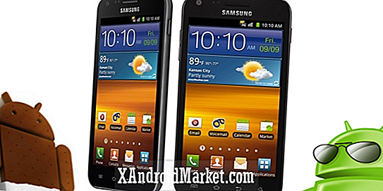 Opgrader Samsung Epic 4G Touch (Galaxy S2) til ICS Firmware FB09
