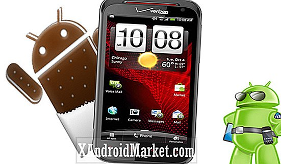 Opgrader HTC Rezound til Android 4.0.3 ICS, men uden HTC Sense