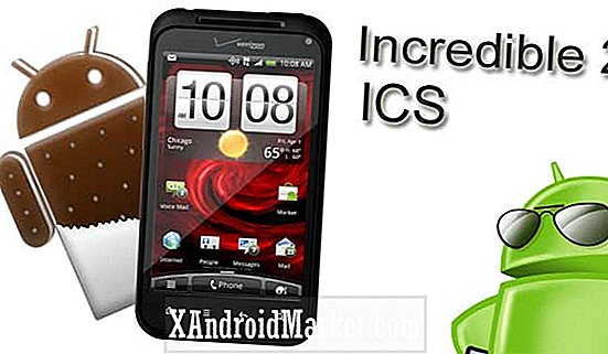 Upgrade HTC Droid Incredible 2 naar Ice Cream Sandwich via onofficiële CyanogenMod 9