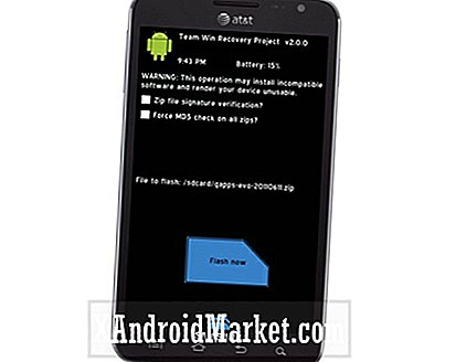 Samsung Galaxy Note SGH-I717 (AT & T): Så här installerar du TWRP 2.1 Touch Recovery