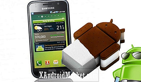 Comment installer Android 4.0.3 ICS RC3.1 sur le Samsung Galaxy S GT-I9000