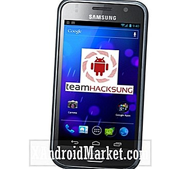 Oppgrader Samsung Galaxy S GT-I9000 Team Hacksung ICS ROM Build 15