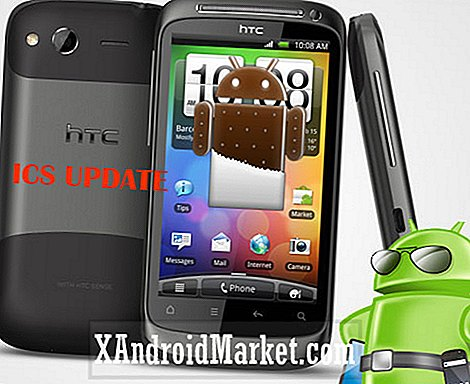 Ice Cream Sandwich ROM voor HTC Desire S [downloaden en installeren]